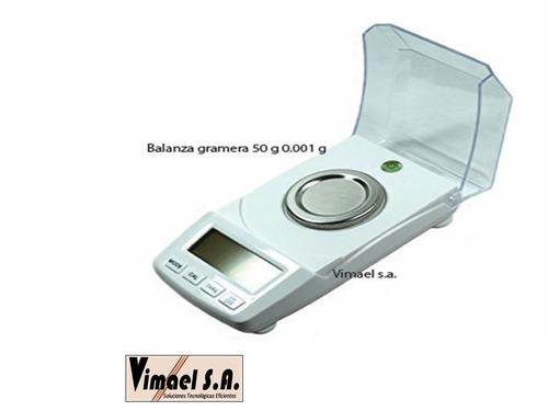 balanza de precision gramera 50 gramos desde 0.001