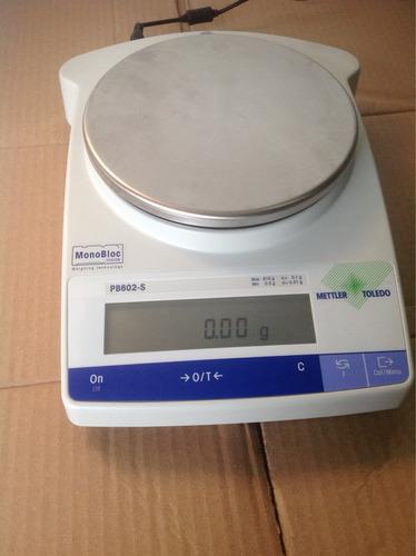 balanza de presicion mettler toledo pb602-s
