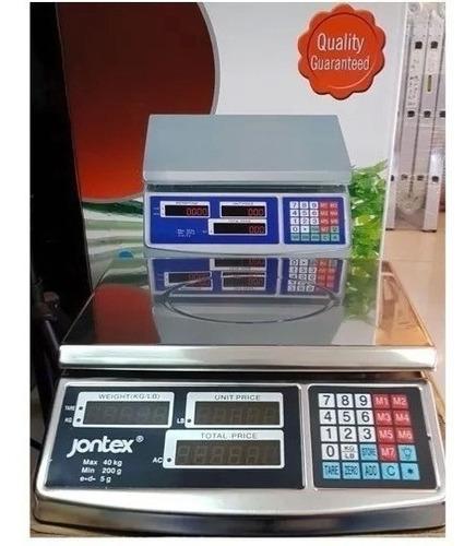 balanza digital  acero inoxidable 40 kg