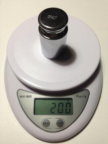 balanza digital, bascula gramera max 5kg, div 1g pantallalcd