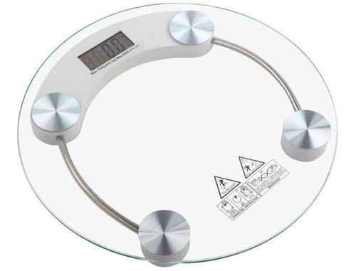 balanza digital de baño 180 kg vidrio templado super oferta