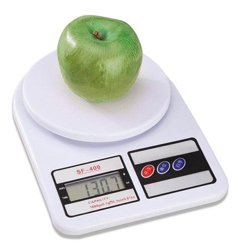 balanza digital de cocina alimentos tara 1g 5kg 7 kg c/pilas