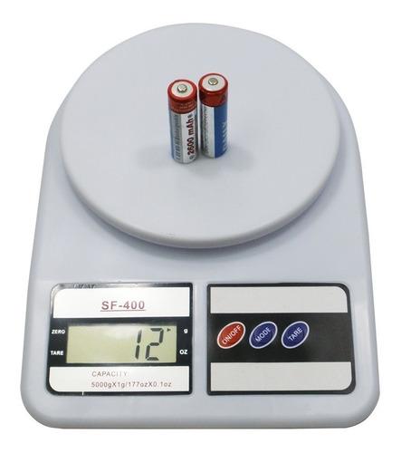 balanza digital de cocina gramera 1gr a 5 kg nuevas