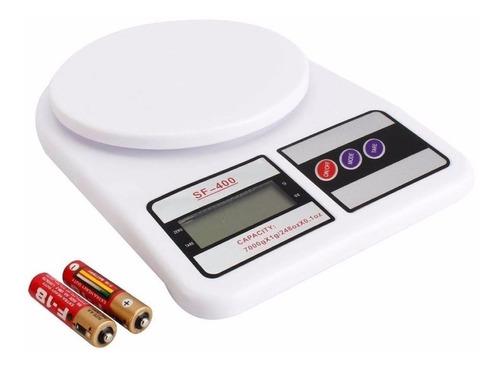 balanza digital de cocina tara 1gr a 7 kg en caja a pilas oferta gastronomia importacion directa