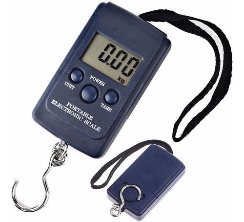 balanza digital de mano equipaje valijas pesca portable ®