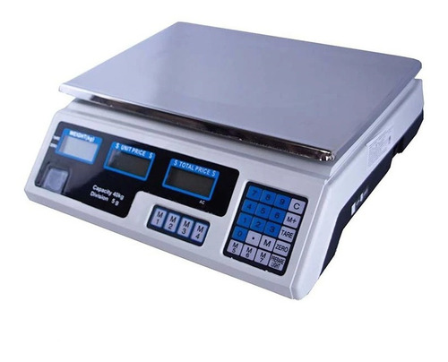 balanza digital electronica de lbs y kls maximo 40kl oferta