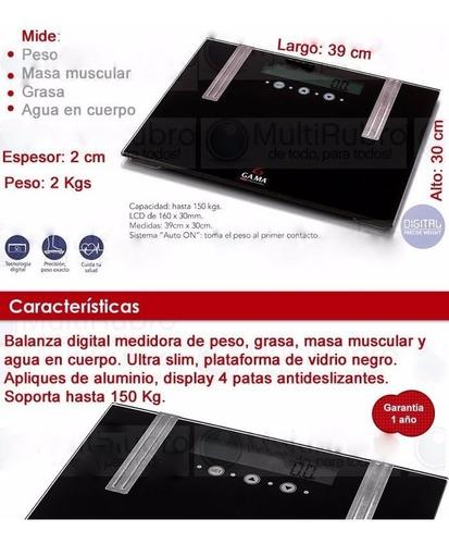balanza digital gama scf-3000