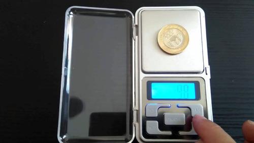 balanza digital gramera joyeria precision bolsillo