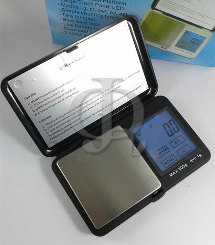 balanza digital joyeria prec mps-500 0,1g a 500g laboratorio