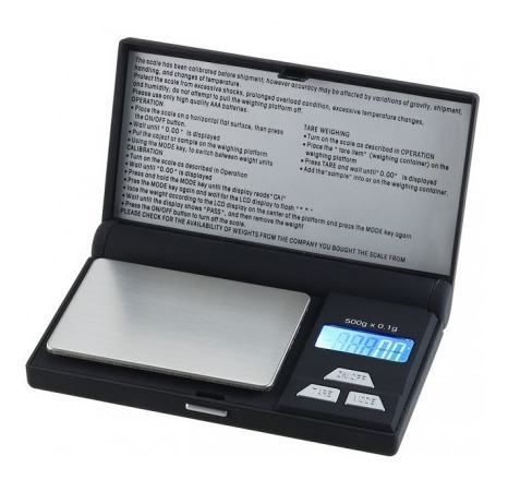 balanza digital ohaus ya-501 joyeria 0,1g a 500g laboratorio