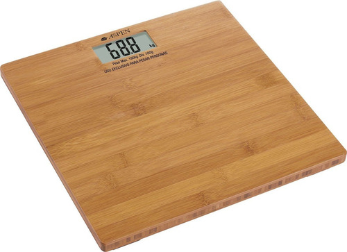 balanza digital personal aspen eb 3110 bamboo 180 kg envios