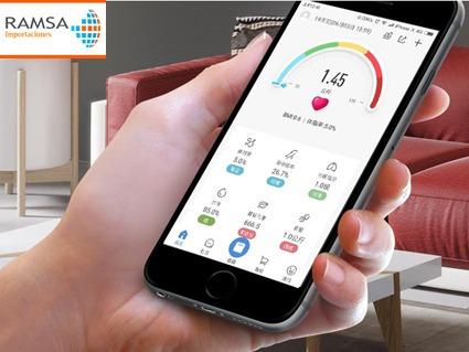 balanza digital peso inteligente con bluetooth