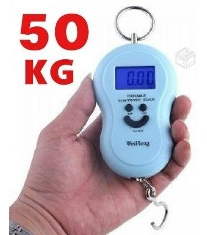 balanza digital portatil colgante 50kg gramos libra oz