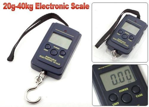 balanza digital portatil de colgar para pesca, maletas, etc