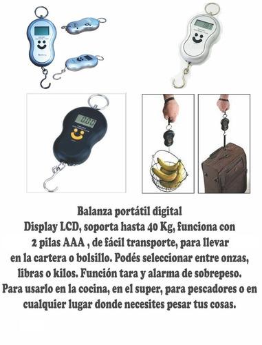 balanza digital portátil de colgar valijas - la plata