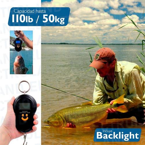 balanza digital portatil de viaje pesar valija 50kg luz led