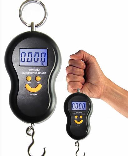 balanza digital portatil viaje y pesca valijas 40kg