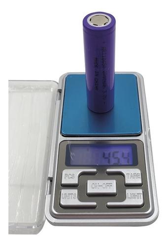 balanza digital precisión 0,1 gramo gramera joyero led tara