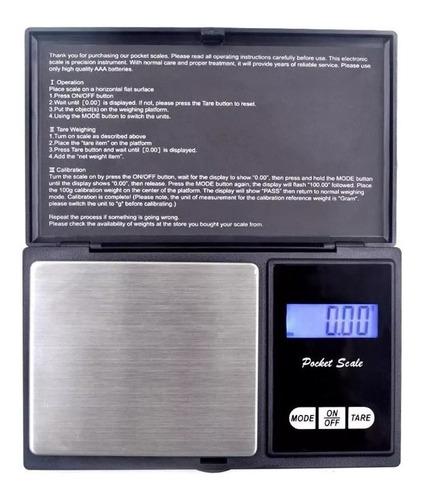 balanza digital precision 500 g division 0.1