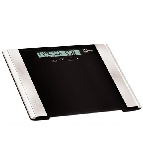 balanza digital silfab 200 kgms 204 medidora grasa liquido