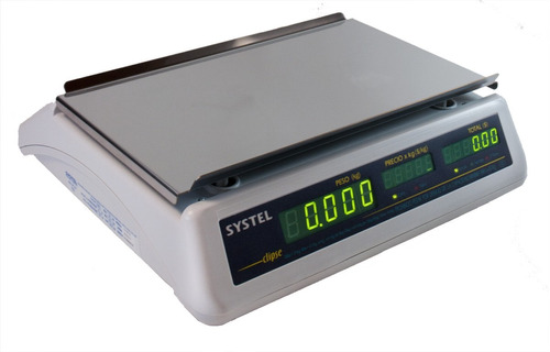 balanza digital systel clipse 31 kg bateria contadora full service delta