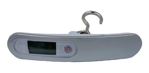 balanza digital viaje equipaje 50kg gancho de calidad valija pesca