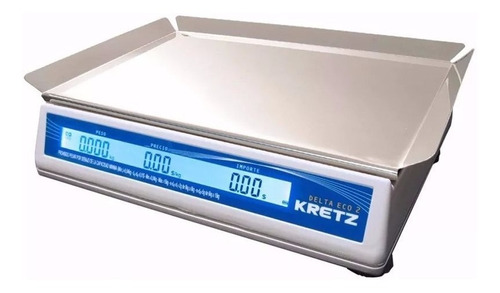balanza electronica 15 kg kretz delta 2 con bateria