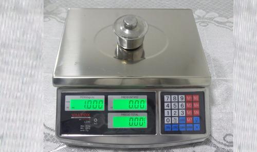 balanza electrónica 40 kilos acero   delivery gratis