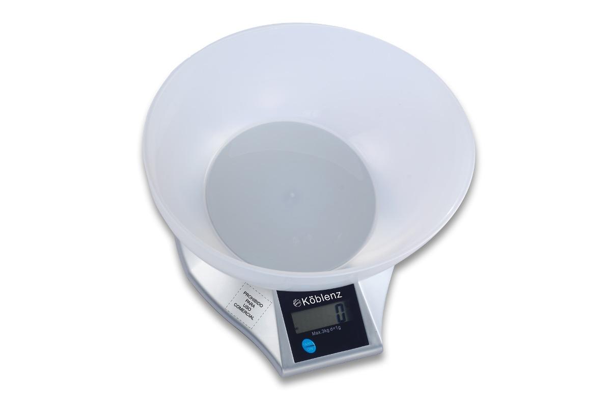 Balanza Electrónica Cocina Köblenz H/ 3kg Con Bowl Plástico! - $ 315 ...