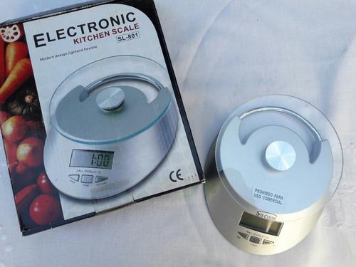 balanza electronica de cocina