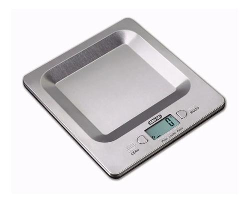 balanza electronica de cocina san up 9250 acero inoxidable