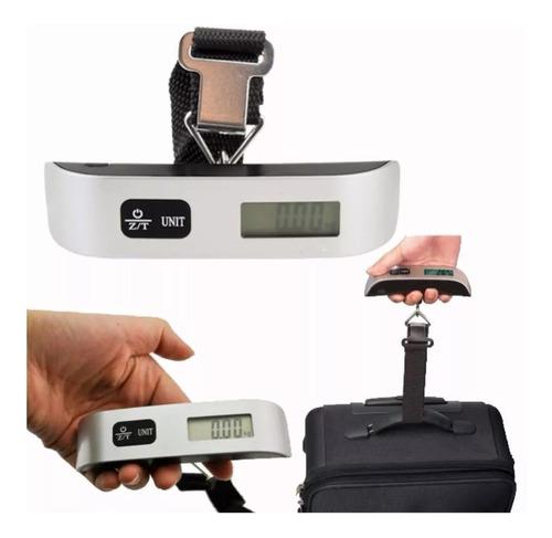 balanza electronica de viaje equipaje valijas 50k