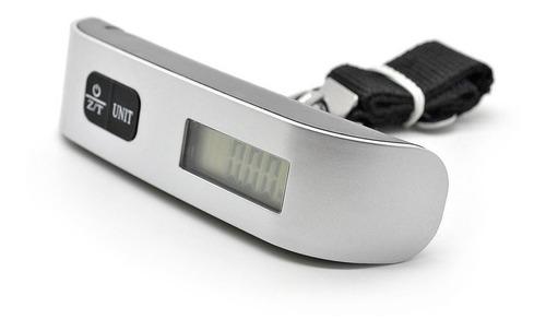 balanza electronica de viaje para equipaje y valijas 50kg