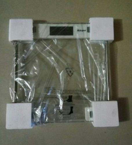 balanza electrónica de vidrio cuadrada y circular de 150kg