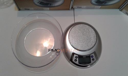 balanza electrónica digital daewoo cocina 5kg lcd bowl 2,2 l