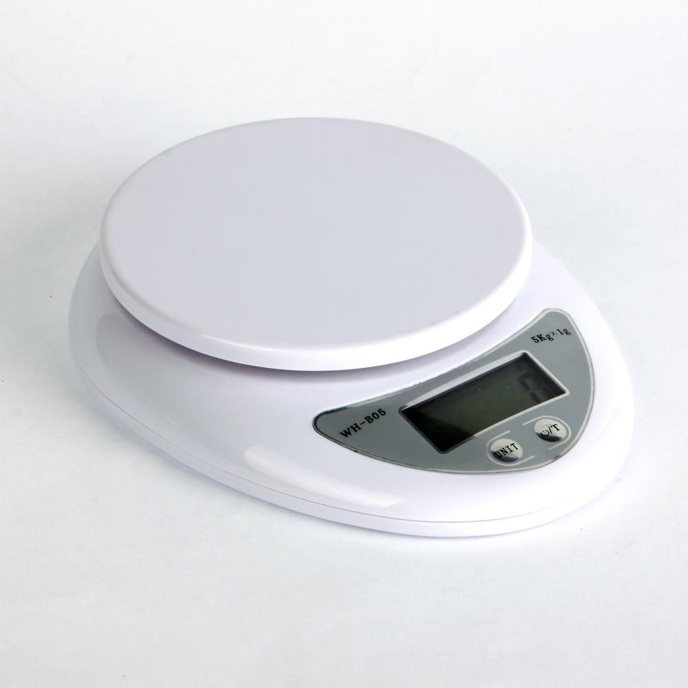 Balanza Electrónica Digital De 1 A 5000 Grs. Cocina Oficina ...