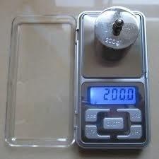 balanza electronica digital gramera para joyas de 0,01 a 200