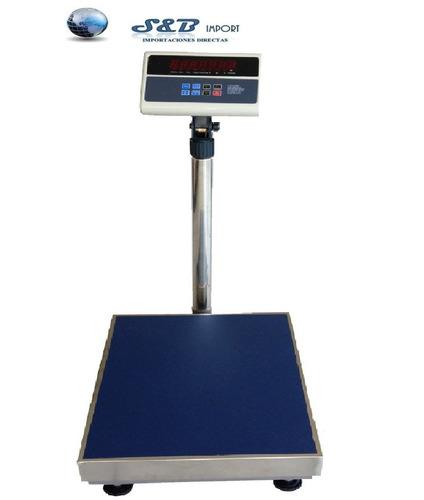 balanza electrónica industrial camry 300 kg