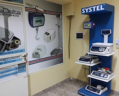 balanza electronica industrial systel komba 300 k visores a led digital service delta