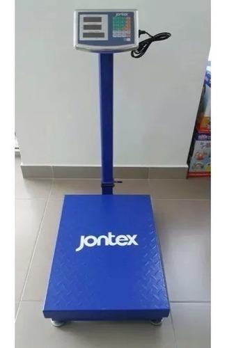 balanza electrónica jontex 300 kilos