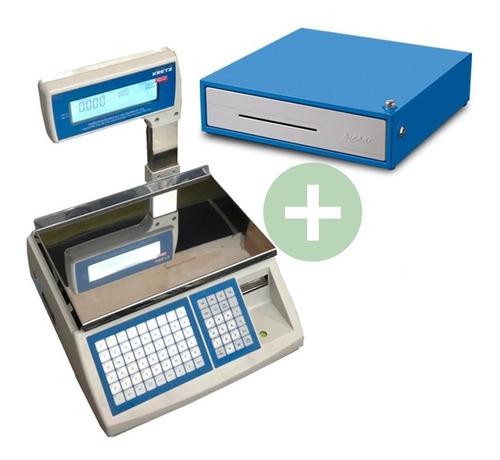 balanza electronica kretz report 31 kg impresor ticket cuota
