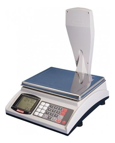 balanza electrónica moretti shop 30 kg con torre y bateria