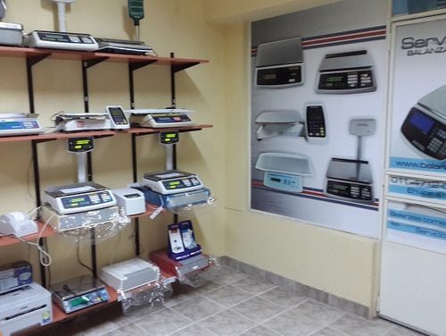 balanza electronica systel cuora 30k impresor ticket etiquet