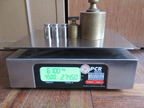 balanza electronica torrey pcr-s/t 40 importaciones leon g.l