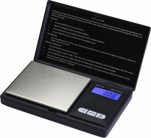 balanza escala digital smartweigh sws100  0.01-100gr