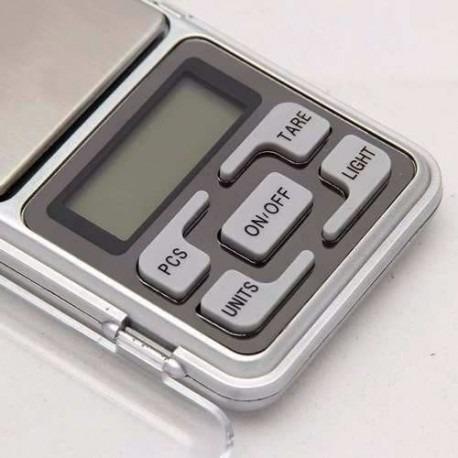 balanza gramera 0.1g/500g digital joyeria portatil oro plata