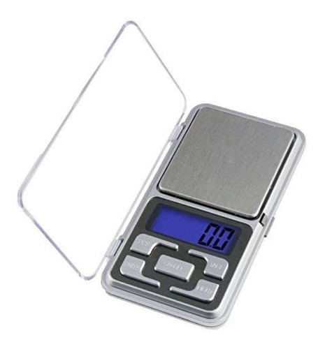 balanza gramera 0.1g/500g digital oro joyeria joya portatil