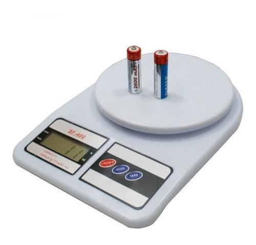 balanza gramera bascula pesa digital  10000 gr tara + pilas