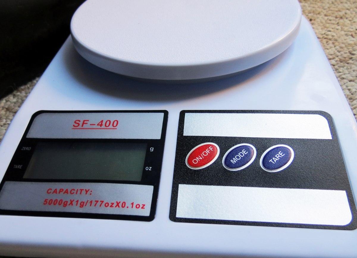 Balanza Gramera Digital Pesa Cocina 7 Kg/7000 X 1g - Bigbull ...