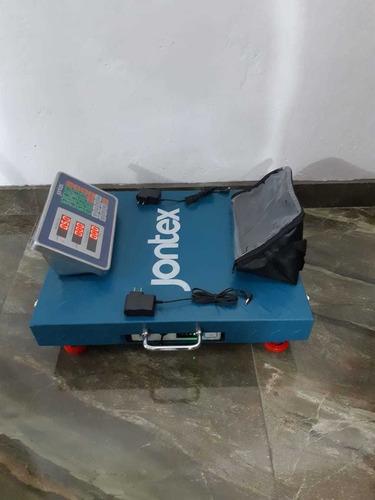 balanza inalámbrica electrónica digital jontex 300kg/500kg